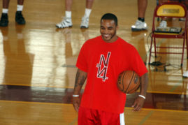 Jameer Nelson at Clinc for The Pete and Jameer Nelson Foundation