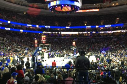PJNFoundation at the 76ers Game